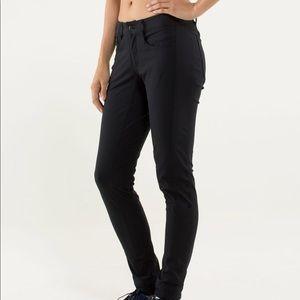 Lululemon Urbanite Trouser dress Pants Black